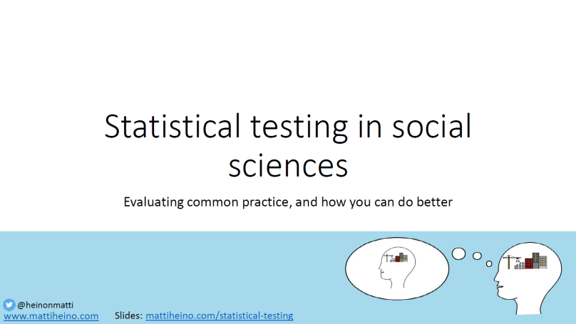 stat testing tausta